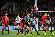 Mike Brown, Full Back (Harlequins) during the Gallagher Premiership Rugby match between Harlequins and Saracens at Twickenham Stoop, Twickenham, United Kingdom on 6 October 2018.