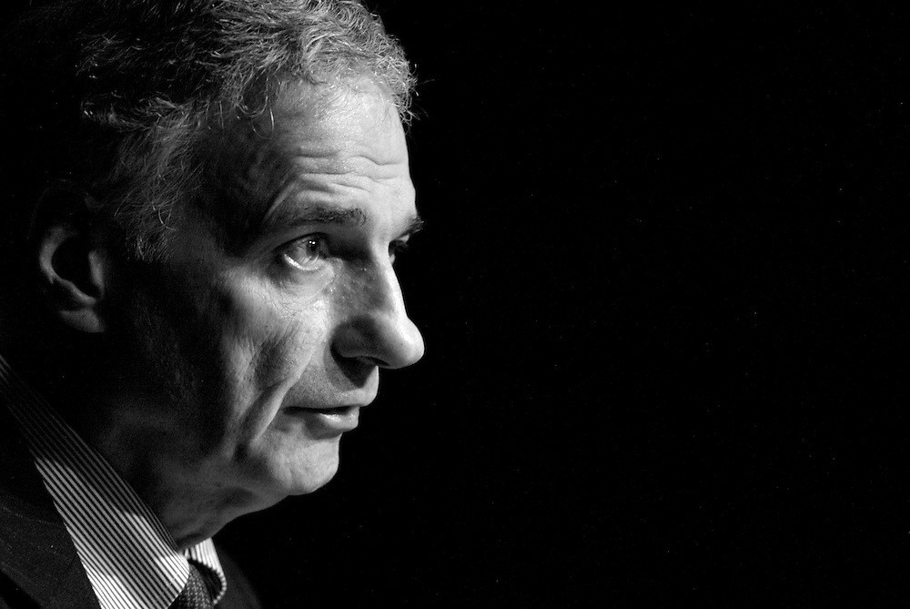 Independent presidential candidate Ralph Nader speaks to students and faculty at Columbia College in Chicago Tuesday afternoon.