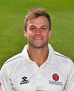 Head shot of Tim Rouse of Somerset during the 2019 media day at Somerset County Cricket Club at the Cooper Associates County Ground, Taunton, United Kingdom on 2 April 2019.