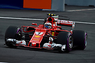 Kimi Raikkonen of Scuderia Ferrari during the Austrian Formula One Grand Prix qualifying session at the Red Bull Ring, Spielberg<br /> Picture by EXPA Pictures/Focus Images Ltd 07814482222<br /> 08/07/2017<br /> *** UK &amp; IRELAND ONLY ***<br /> <br /> EXPA-EIB-170708-0004.jpg