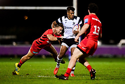 Maliq Holden of Bristol Bears United - Mandatory by-line: Ryan Hiscott/JMP - 24/09/2018 - RUGBY - Clifton RFC - Bristol, England - Bristol Bears United v Saracens Storm - Premiership Rugby Shield