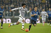 Juan Cuadrado Juventus, Yuto Nagatomo Inter,<br /> Torino 27-01-2016, Juventus Stadium, Football Calcio 2015/2016 Coppa Italia, Juventus - Inter, Foto Filippo Alfero/Insidefoto