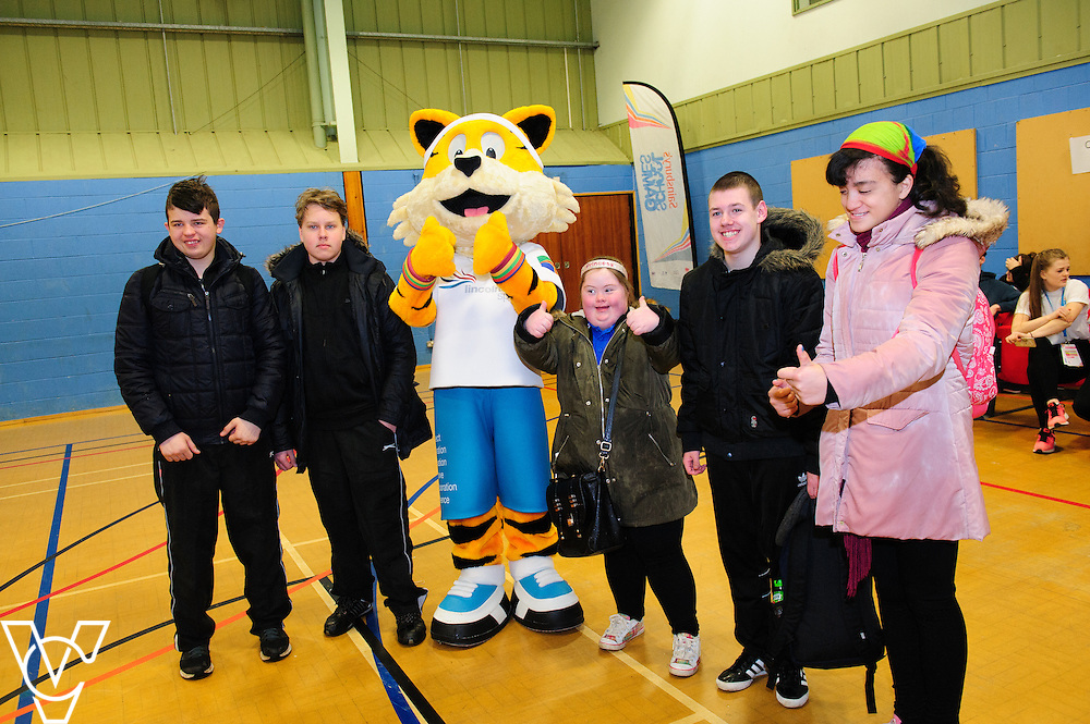 Lincolnshire School Games Winter Festival.<br /> <br /> Date: March 9, 2016<br /> Picture: Chris Vaughan/Chris Vaughan Photography for Lincolnshire Sport