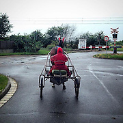 Lysa nad labem. #lysa #lysanadlabem #horse #czechrepublic #railwaycrossing #prag #praha #prague #racehorse #latergram