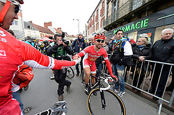 08.03.2016, Contres - Commentry, FRA, Paris Nizza, 2. Etappe, im Bild bouhanni nacer (fra) // during the 2nd Stage of Paris- Nice Cycling Tour at Contres - Commentry, France on 2016/03/08. EXPA Pictures © 2016, PhotoCredit: EXPA/ Pressesports/ PAPON BERNARD<br /> <br /> *****ATTENTION - for AUT, SLO, CRO, SRB, BIH, MAZ, POL only*****