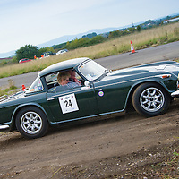 Car 24 Urs Mezger Denise Mezger Triumph TR4A (A&D)