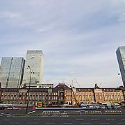 Tokyo Station Hotel. Monday, September 24, 2012.  (Albert Siegel)