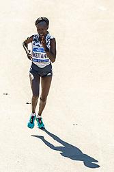 04-11-2018 USA: 2018 TCS NYC Marathon, New York<br /> Race day TCS New York City Marathon / <br /> Mary Keitany win 2018 TCS New York City Marathon Title