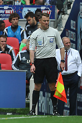 Stuart Burt Referee, Linesman, Middlesbrough v Norwich, Sky Bet Championship, Play Off Final, Wembley Stadium, Monday  25th May 2015