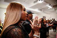 Serena Williams backstage during Klarna STYLE360 NYFW Hosts S by Serena Fashion Show
