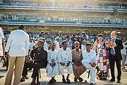 2015 Dubai World Cup at Meydan horsetrack in UAE.
