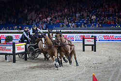 Geerts Glenn (BEL)<br /> FEI World Cup Driving<br /> Flanders Christmas Jumping - Mechelen 2012<br /> © Dirk Caremans