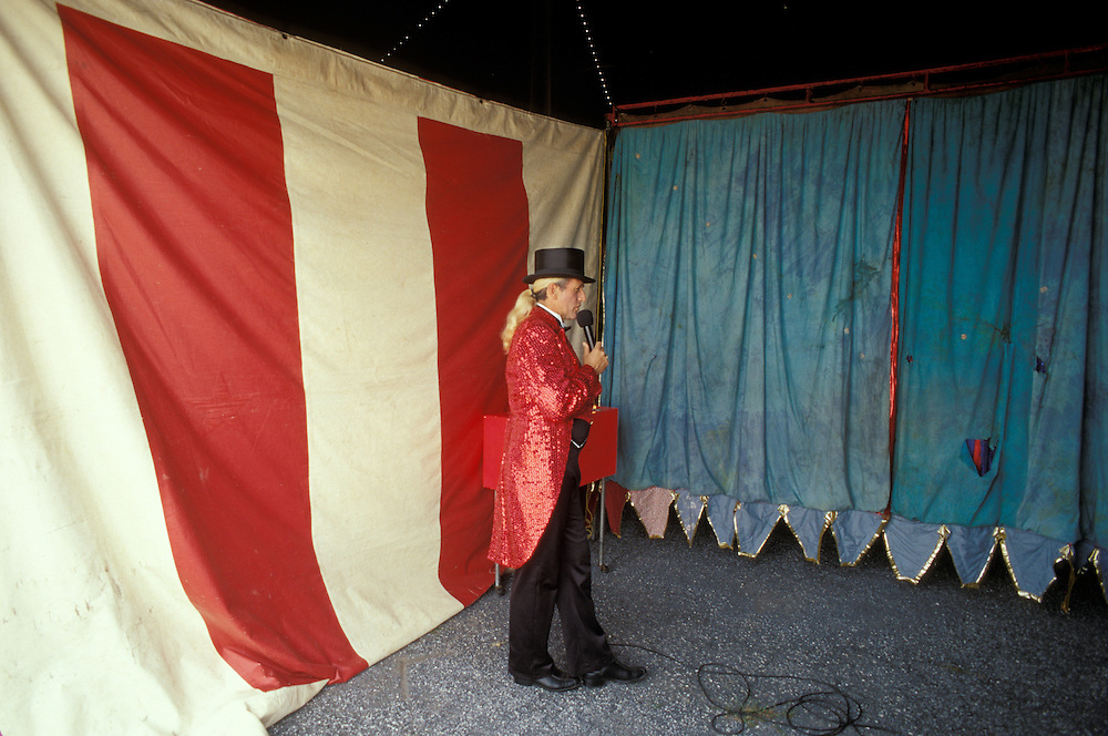 Walker Brothers circus one a small handful of traveling mud show circuses performing under canvas.