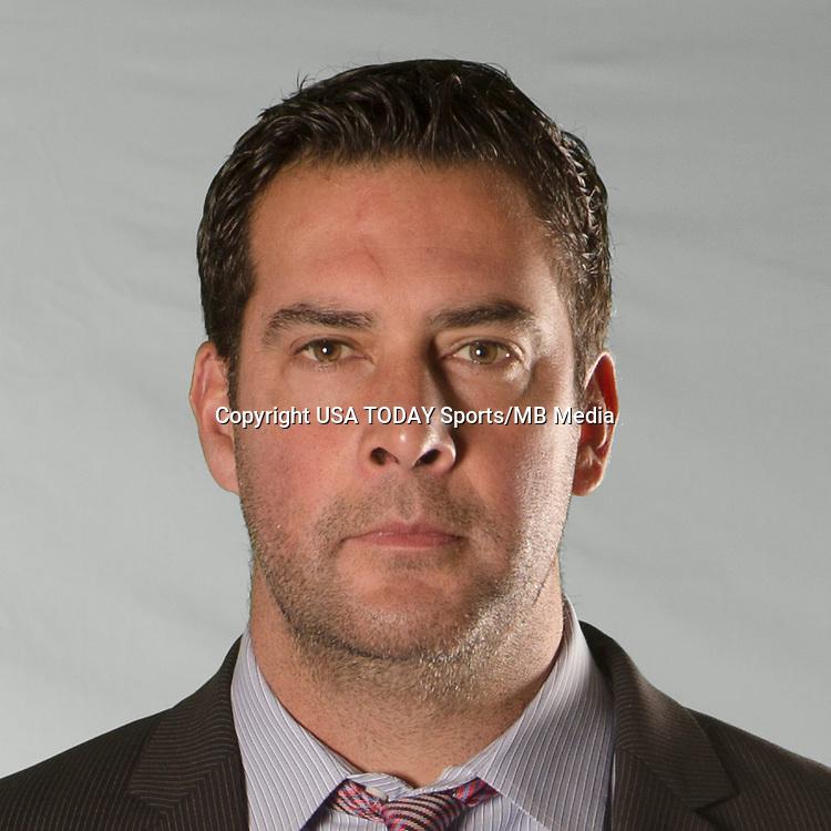 Feb 25, 2016; USA; Real Salt Lake coach Jeff Cassar poses for a photo. Mandatory Credit: USA TODAY Sports