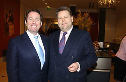 Left to right, DR LIAM FOX MP and LORD STRATHCLYDE at a fundraising evening for the Conservative Party General Election Campaign Fund held at Bonhams, 101 New Bond Street, London W1 on 17th March 2005.<br /><br />NON EXCLUSIVE - WORLD RIGHTS