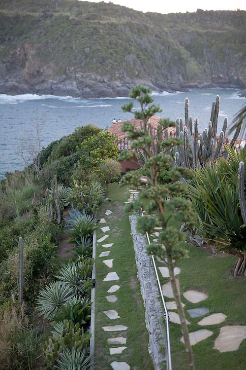 Pathways of the Cliffside Villa.