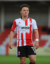 Jack Munns of Cheltenham Town  - Mandatory by-line: Nizaam Jones/JMP - 05/11/2016 - FOOTBALL - LCI Rail Stadium - Cheltenham, England - Cheltenham Town v Crewe Alexandra - Emirates FA Cup first round