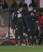 Dundee manager Paul Hartley points the way - Dundee  v Queen of the South - SPFL Championship at Dens Park<br /> <br />  - &copy; David Young - www.davidyoungphoto.co.uk - email: davidyoungphoto@gmail.com