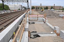 Construction Progress Railroad Station Fairfield Metro Center - Site visit 11 of once per month Chronological Documentation.