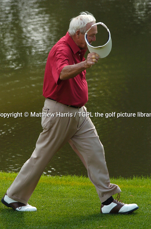 Arnold PALMER (USA) during second round US Masters 2004,Augusta National, Augusta, Georgia, USA.