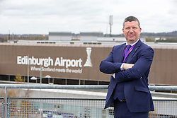 Matt shadowing Edinburgh Airport's chief exec Gordon Dewar as he runs Scotland's busiest airport.
