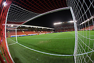 9th November 2017, Pittodrie Stadium, Aberdeen, Scotland; International Football Friendly, Scotland versus Netherlands; General view of Pittodrie Stadium, home of Aberdeen and venue for Scotland v Holland