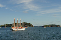 Schooner Margaret Todd, Bar Harbor Maine