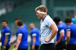 Josh McNally looks on, Bath Rugby were allowed to start Stage Two of the Premiership Rugby return to play protocol - Mandatory byline: Patrick Khachfe/JMP - 07966 386802 - 06/08/2020 - RUGBY UNION - The Recreation Ground - Bath, England - Bath Rugby training