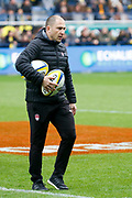 Pierre Mignoni Coach to LOU during the French championship Top 14 Rugby Union match between ASM Clermont and Lyon OU on November 18, 2017 at Marcel Michelin stadium in Clermont-Ferrand, France - Photo Romain Biard / Isports / ProSportsImages / DPPI