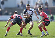 Pontypridd Alex Webber<br /> Photographer Mike Jones/Replay Images<br /> <br /> Aberavon RFC v Pontypridd RFC <br /> Principality Premiership<br /> Saturday 14th April 2018<br /> Talbot Athletic Ground<br /> <br /> World Copyright © Replay Images . All rights reserved. info@replayimages.co.uk - http://replayimages.co.uk