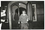 Arriving Reggie Heyworth's 21 st. Oxfordshire. 16 October 1982.