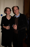 Alain de Botton, Party to celebrate the publication of ' The Swallow and the Hummingbird by Santa Sebag-Montefiore. The English Speaking Union. 15 March 2004. ONE TIME USE ONLY - DO NOT ARCHIVE  © Copyright Photograph by Dafydd Jones 66 Stockwell Park Rd. London SW9 0DA Tel 020 7733 0108 www.dafjones.com