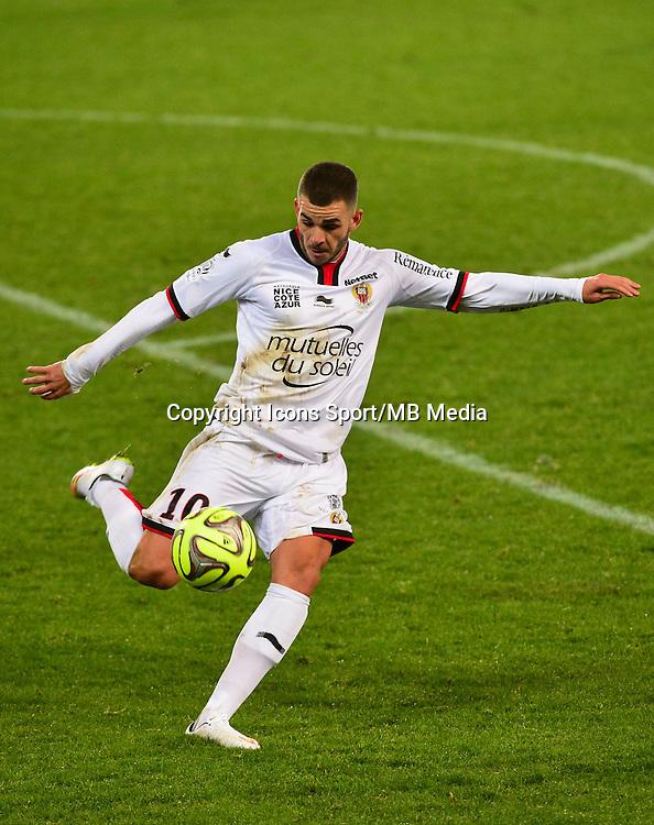 Valentin EYSSERIC - 06.12.2014 - Caen / Nice - 17eme journee de Ligue 1 -<br />Photo : Dave Winter / Icon Sport