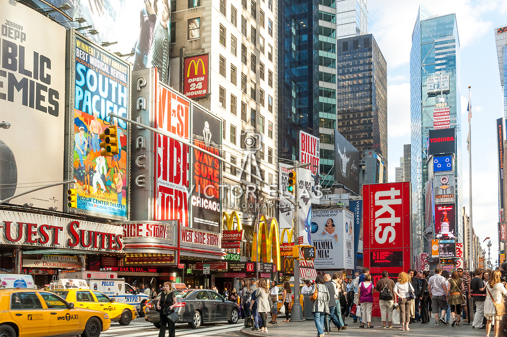 Times Square. New York, NY. USA.