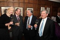 Serena Sutcliffe MW, David Peppercorn MW, Anthony Barton (proprietor) and Herve? Deschamps (Perrier-Jouet)