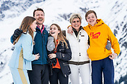 Fotosessie met de koninklijke familie in Lech /// Photoshoot with the Dutch royal family in Lech .<br /> <br /> Op de foto: