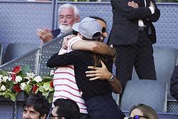 May 9, 2019 - Madrid, Spain - Raquel Sánchez Silva during day six of the Mutua Madrid Open at La Caja Magica on May 09, 2019 in Madrid, Spain  (Credit Image: © Oscar Gonzalez/NurPhoto via ZUMA Press)