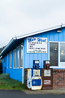 Original Mo Restaurant at Devil's Punchbowl along the Oregon Coast.