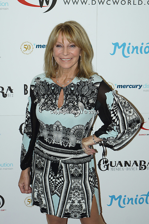 London,England,UK : 28th April 2016 : Bonnie Lythgoe is a Dancer,Producer, Director attend the Kimberly Wyatt launches the 2016 annual BLOCH Dance World Cup at BLOCH, 35 Drury Lane, Covent Garden, London. Photo by See Li