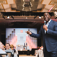 Earvin Magic Johnson. NBA Basketball Star. Adobe Ad Cloud Event. The Phoenician Resort Scottsdale, Arizona, USA. Event Photographer. San Francisco Event Photographer. Phoenix Conference Photographer. Corporate Photographer.