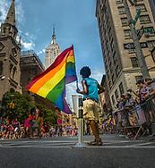 Task: Shoot, Create & Composite art for NYC Pride-Gay Pride Parade
