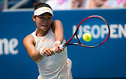 Yafan Wang of China in action during the second round at the 2018 US Open Grand Slam tennis tournament, at Billie Jean King National Tennis Center in Flushing Meadow, New York, USA, August 30th 2018, Photo Rob Prange / SpainProSportsImages / DPPI / ProSportsImages / DPPI