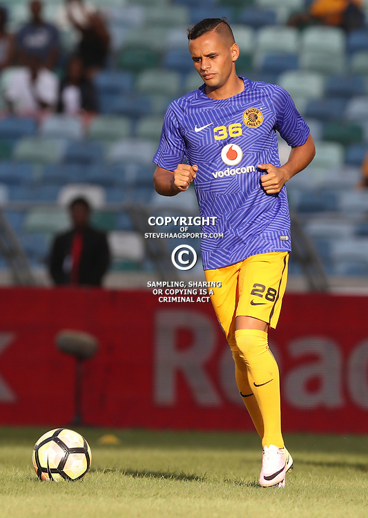 DURBAN, SOUTH AFRICA - FEBRUARY 18: Gustavo Paez of Kaizer Chiefs during the Absa Premiership match between Kaizer Chiefs and Highlands Park at Moses Mabhida Stadium on February 18, 2017 in Durban, South Africa. (Photo by Steve Haag/Gallo Images)