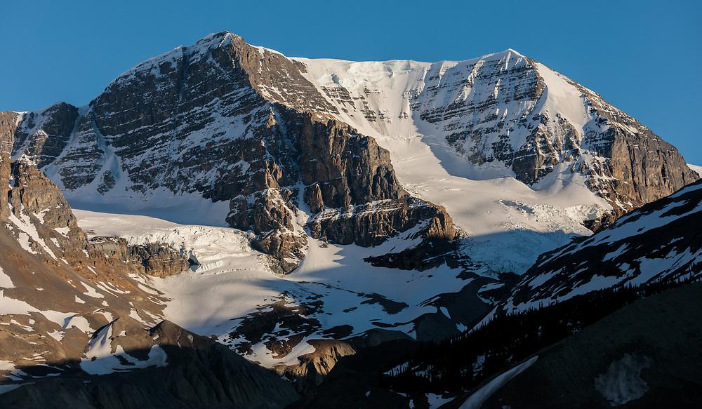Mt Andromeda in Alberta, Canada