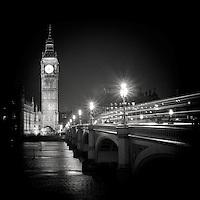 Big Ben and Westminster Bridge, London, uk