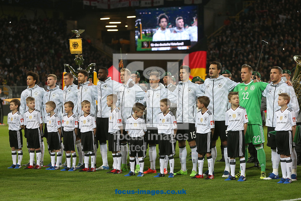 The Germany team before the International Friendly match at Signal Iduna Park, Dortmund<br /> Picture by Paul Chesterton/Focus Images Ltd +44 7904 640267<br /> 22/03/2017