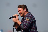 Chris Young performs at NASCAR Quaker State 400 - Sparta, KY