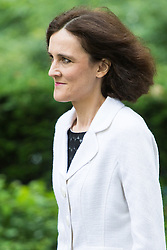 Downing Street,  London, June 27th 2015. Northern Ireland Secretary Theresa Villiers arrives for the first post-Brexit cabinet meeting at 10 Downing Street