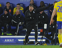 Football - 2019 / 2020 Emirates FA Cup - Fifth Round: Leicester City vs. Birmingham City<br /> <br /> Birmingham Manager Pep Clotet, at the King Power Stadium.<br /> <br /> COLORSPORT/ANDREW COWIE