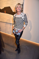 Anthea Turner at a VIP private view of 21st Century Women held at Unit London, Hanover Square, London England. 03 October 2018.
